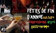 Les fêtes de fin d'année: traditions, expressions idiomatiques, argot, gastronomie