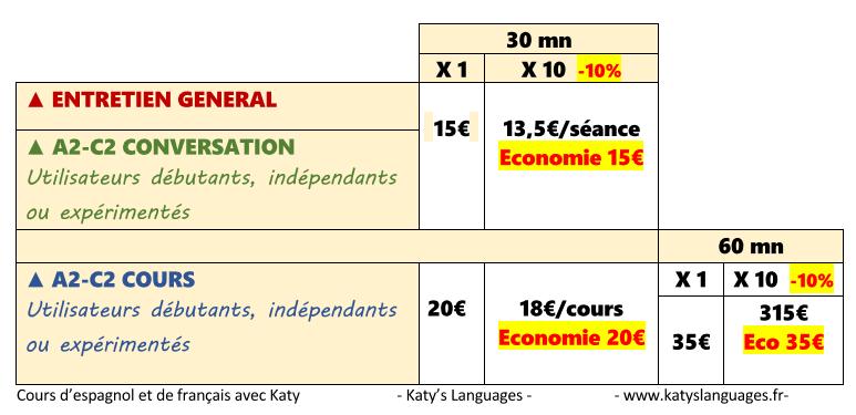 Katy's Languages_2019 tarifs.png